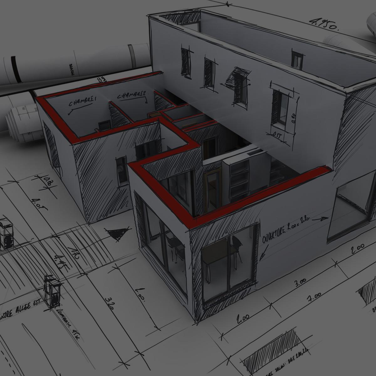 Autocad 2d y 3d cursosbios for Constructoras de casas